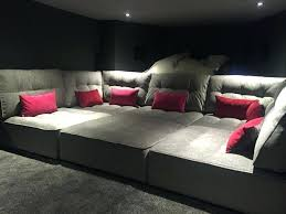 theater room decor modern ideas image of movie small home theatre