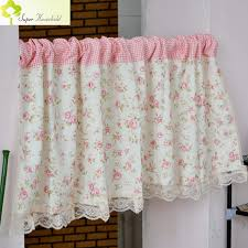 living room curtains with valance. Short Curtains Valance Pelmet Printed Pink Floral Kitchen For Living Room Window Blinds Bedroom Door With