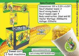 Corn Vending Machine Extraordinary sweetcornvendingmachine FXR48 manufacturer from India Coolex