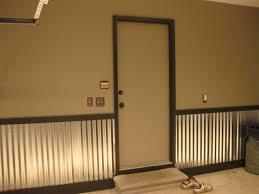 amazing corrugated metal wainscoting