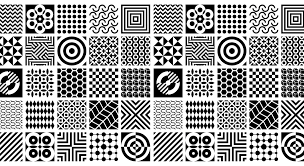 How To Draw Single Pattern Design 50 Stunning Geometric Patterns In Graphic Design Learn