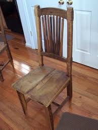 Buy Custom Reclaimed Antique Barn Wood Rustic Spindle Back Chairs