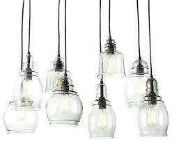farmhouse pendant lights light glass rustic kitchen island black