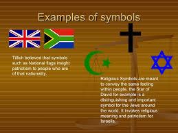 symbolism religious language examples of symbols