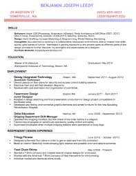 resume benjamin leedy archinect resume