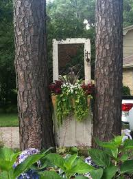 doors hung gardens planters old fairy