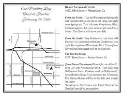 Custom Maps Wedding Maps Special Day Guests Invitations Directions