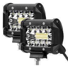 Daylight Led Light Bar Caxmtu Car Lamp Superbright Led Spotlight Dustproof Car