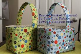 Sew Lux Fabric : Blog: Easter Basket Tutorial & Easter Basket Tutorial Adamdwight.com