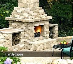 paver stone fireplace 3 large paver stone fireplace plans