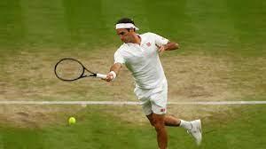 Roger Federer Wimbledon result against ...