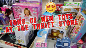 tons of new toys at the thrift goodwill hunting s2 e18