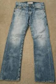 Details About Mens Jeans Size 30r 30 Reg 32 1 2 Big Star Pioneer Buckle Light Blue Male