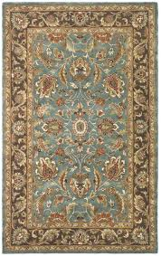 mutable safavieh heritage collection hgb blue brown area rug safavieh heritage collection hgb blue brown area