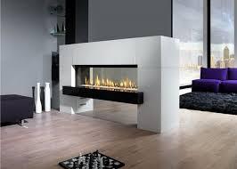 modern ventless gas fireplace