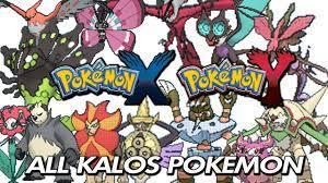 Pokemon X & Y - All 6th Generation Pokemon / All New Kalos Pokemon  (Pokedex) - YouTube