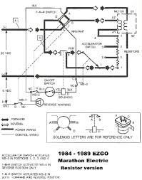 1989 ez go textron golf cart wiring diagram wiring diagrams second