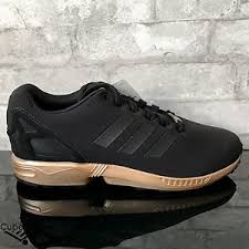 adidas zx flux black. image is loading adidas-zx-flux-w-black-copper-metallic-rose- adidas zx flux black