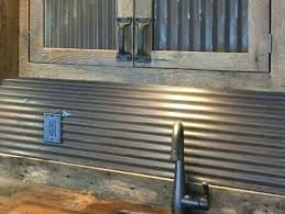 corrugated tin backsplash reclaimed corrugated antique barn tin galvanized tin vintage building supplies wainscoting pictures of