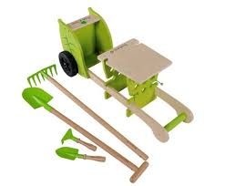 childrens gardening tools. Children\u0027s Garden Trolley \u0026 Pint-sized Gardening Tools Are Perfect For Kids Who Honing Their Green Thumb | Inhabitots Childrens
