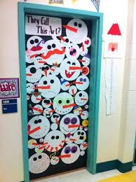 office christmas door decorations. Christmas Door Decorating Ideas Winter Art Decoration Idea Front Pinterest Office Decorations I