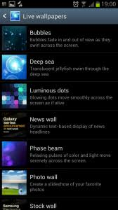 changing galaxy s3 live wallpaper