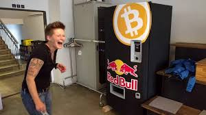 Red Bull Vending Machine Custom BitCoin For Beginners BitCoin News Red Bull BitCoin Machine