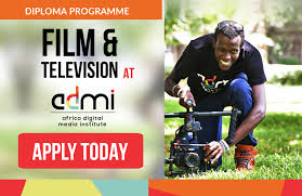 film and television production diploma africa digital media  apply today