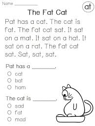 Reading Passages For Kindergarten Worksheets for all | Download ...