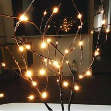 Lighting twigs Flower Twig Lighting Twig Led Branches Light Battery Powered Fairy Decorative Lamp Night Willow Lighted Branch For Home Zarate Lighting Twig Zarate
