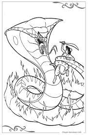 Aladdin Disegni Da Colorare Per Bambini