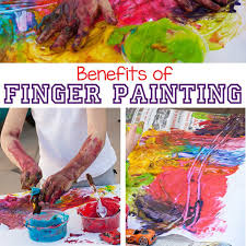 benefits of finger painting for kids