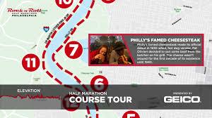2018 Rock N Roll Philadelphia Half Marathon Course Tour Presented By Geico