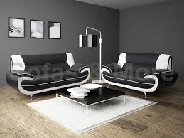 lewis black  white pu leather  seater sofa suite amazoncouk