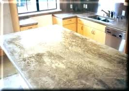 marble look concrete countertops after three years we still love our feather finish concrete we get compliments on them all the time and overall they have