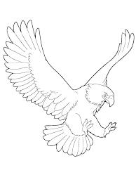 Eagles Coloring Pages Bald Eagle Color Page Underdog Pa