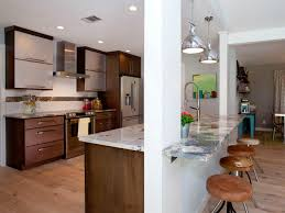 small open kitchen bar ideas