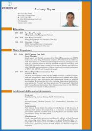 Best It Resume Format 76 Admirably Gallery Of Best Resume Template 2016