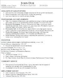 Skill Resume Examples Personal Skills Sample Resume Template ...