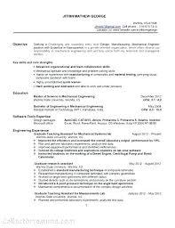 Sample Resume Mechanical Engineer Resume Mechanical Engineer Engineering Resume Format Best Of Civil 87