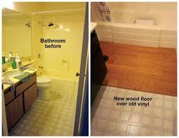 how to redo bathroom floor. 70s Bath Gets Budget Redo And Bathroom Creative Of Floor How To O