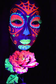 glo blacklight uv paint kit for and face