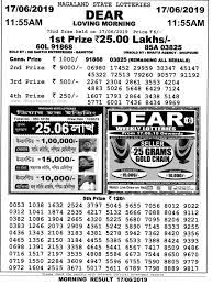Dhankesari Result Dear Lottery 11am 4pm 8pm   Today result, Lottery,  Lottery results