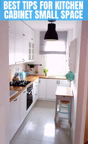 Tips To Choose Kitchen Cabinet For A Small Kitchen Small Kitchen