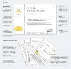 Bonitätscheck muster / bonitätscheck muster : Schufa Schufa Auskunft Fur Den Mietvertrag So Erhalt Man Sie Schnell Und Unkompliziert