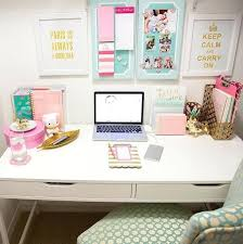 cubicle office decor pink. Office Desk Decor Ideas Interesting Fresh Decoration Beautiful Wonderful Chic . Cubicle Pink