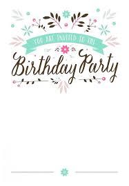 18 birthday invitation designs templates printable free 18th template