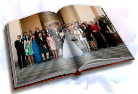 wedding coffee table book inside pages