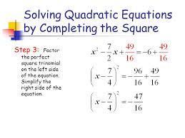 15 solving quadratic