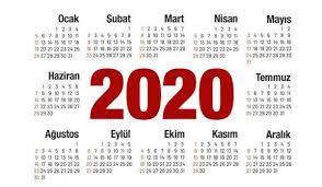 2020 hangi günler resmi tatil: Ramazan ve Kurban Bayramı başlama  tarihleri... - YAŞAM Haberleri